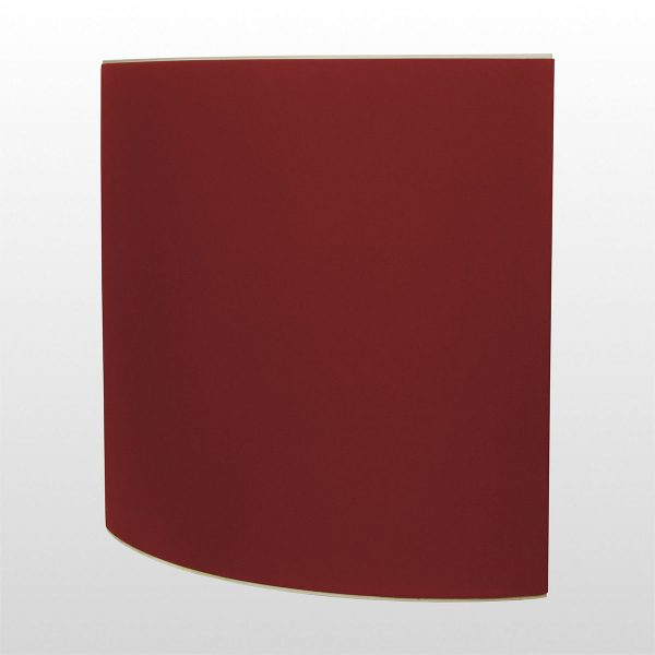 Wave reflector diffusion panel Red