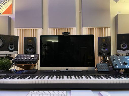 QRD N11 diffuser in the studio