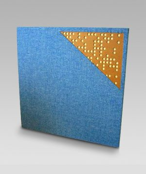 Binary acoustic panel