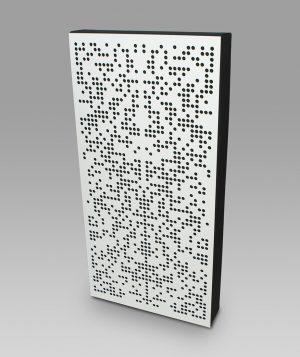 hybrid acoustic panel