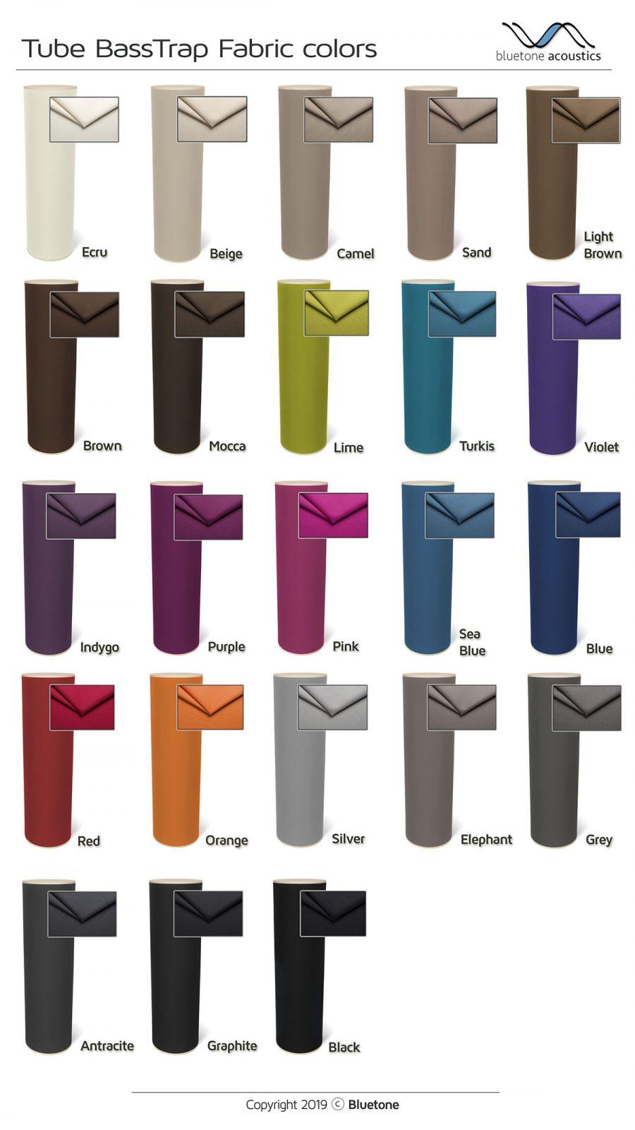 Basstraps fabrics
