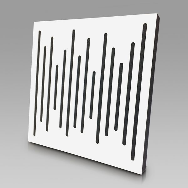 Acoustic Panel WaveFuser White