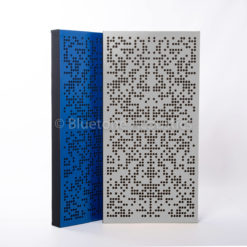 Binary AbFuser acoustic panel diffuser