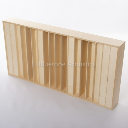 Bluetone QRD N17 acoustic diffuser - top