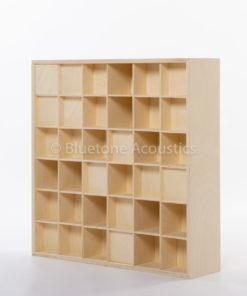 Bluetone QRD 2D acoustic diffuser - side view