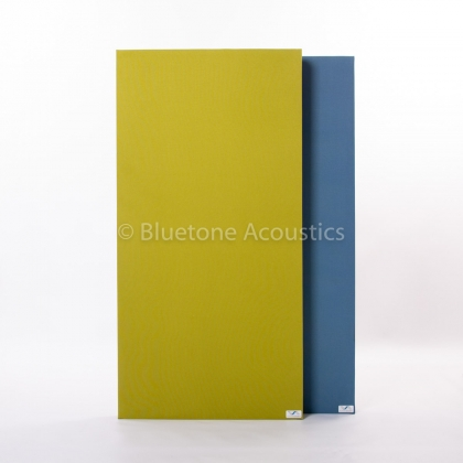 Wall Pro acoustic absorbers green and sea blue
