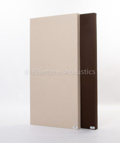 Wall Pro soundproofing panels beige and mocca