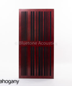 Slat AbFuser mahogany front plate